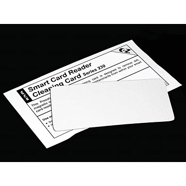 TST Impresso 2391 Flat Cleaning Card, 50/Box