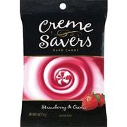 Wrigley® Creme Savers, Strawberry Creme, 6 oz. Bag