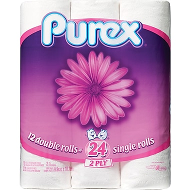 Purex® Bathroom Tissue, Double Roll