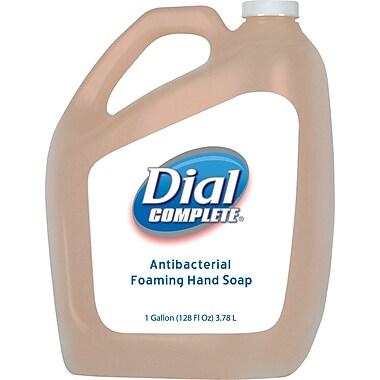 Dial® Complete Antibacterial Foaming Hand Wash, Refill, 1 gal.