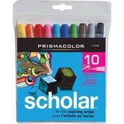 Prismacolor® - Marqueurs pinceaux Scholar, couleurs variées, paq./10