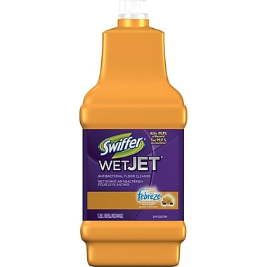 Swiffer Wetjet Antibacterial Floor Cleaner Refill Staples