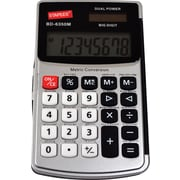 Staples BD-6350M 8-Digit Metric Conversion Handheld Calculator