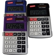 Staples® - Calculatrice de poche, métallique