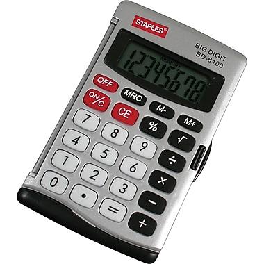 Staples® – Calculatrice portative à 8 chiffres
