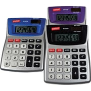 Staples® - Calculatrice de table métallique à 8 chiffres