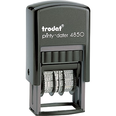 Trodat® 4850 Mini Text Dater,