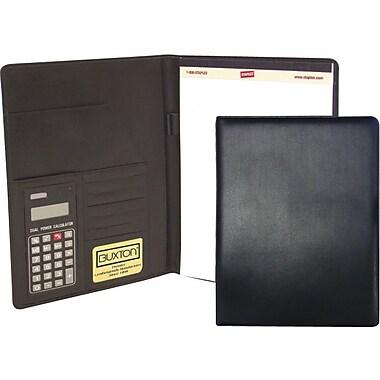 Buxton® Writing Padfolio Pad w/Calculator