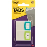Post-it® Assorted Color Preprinted Tabs