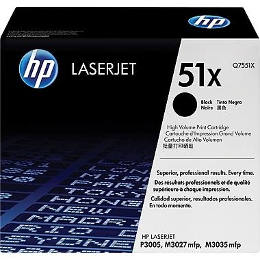 HP 51X (Q7551X) Cartouche de toner HP LaserJet noir à rendement élevé d'origine