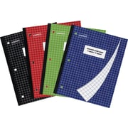 "Staples® 4-Square/5-Square Graph Notebook, 8 1/2"" x 11"""