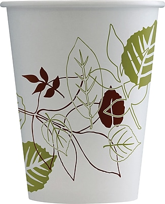 Dixie Pathways 8oz Hot Cups, 1000/Case (2388PATH)