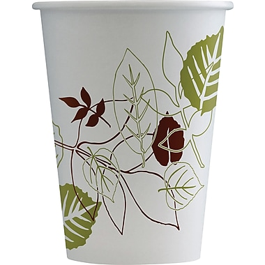 Dixie Pathways 12 oz. Hot Cups, 50/Pack (2342PATH)