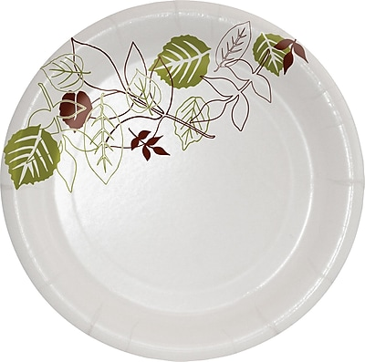"Dixie® Ultra® Pathways® Heavy-Weight Paper Plate by GP PRO, 6"", 125/Pack (SXP6WS)"