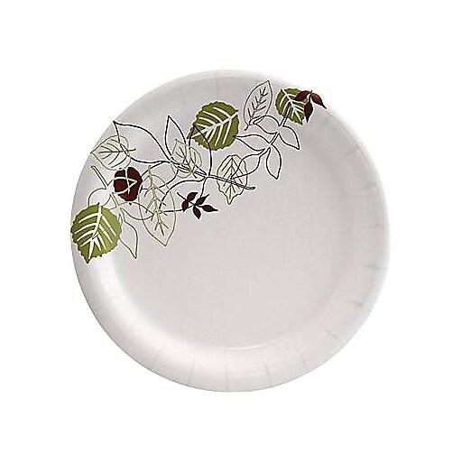 Dixie Pathways Medium-Weight Paper Plates, 6 7/8