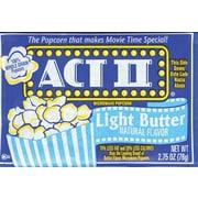 Act II Microwave Popcorn, 36 Bags/Box