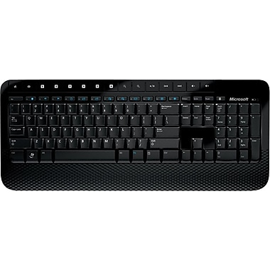 Microsoft Wireless Keyboard 2000, USB Wireless Keyboard, Black (E6K-00001)