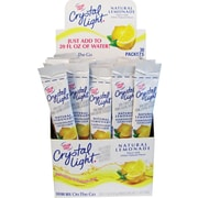 Crystal Light On The Go Lemonade, 0.9 oz., 3/30 Packs