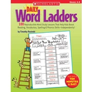 Scholastic Daily Word Ladders Grades 46
