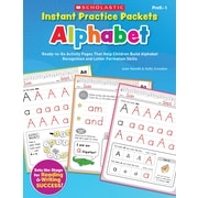 Scholastic Instant Practice Packets Alphabet