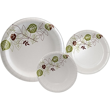 Dixie® Pathways™ Medium Weight Paper Plates