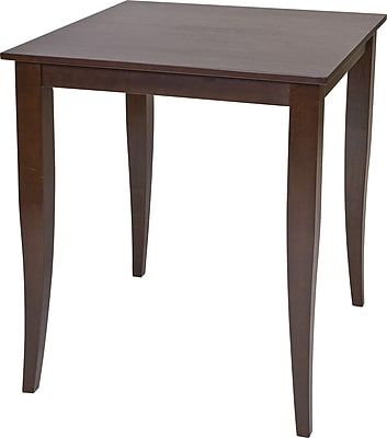 OSP Designs® Jamestown Wooden Pub Table, Espresso
