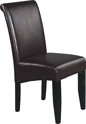 OSP Designs® Metro Bonded Leather Parsons Chair, Espresso