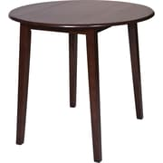 OSP Designs® Westbrook Wooden Pub Round Drop-Leaf Table, Amaretto
