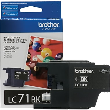 Brother Ink Cartridge, Black (LC71BKS)
