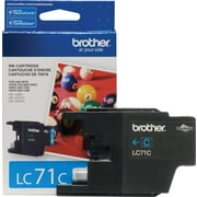 Brother – Cartouche de toner cyan LC71 (LC71CS)