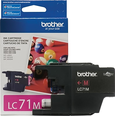 Brother Genuine LC71MS Magenta Original Ink Cartridge