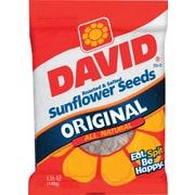 David® Sunflower Seeds, Original Flavor, 5.25 oz. Bags, 12 Bags/Box