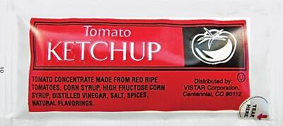 Tomato Ketchup Single Serve Packets, 200/Box
