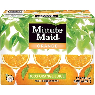 Minute Maid® Orange Juice Cans, 12-Pack