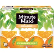 Minute Maid® - Cannettes de jus d'orange, paq./12