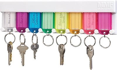 MMF Industries™ STEELMASTER® Multi-Colored Key Rack, 2 3/4