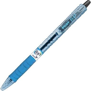 Pilot B2P Bottle-2-Pen Retractable Ball Point Pens, Fine Point, Black, 12/Pack (34600)