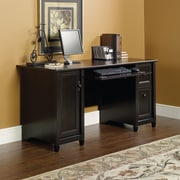 Sauder Edge Water Computer Desk, Wide, Black