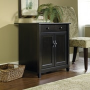 Sauder Edge Water Utility Stand, Black