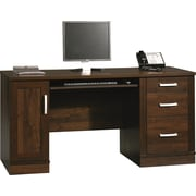 Sauder Office Port Credenza, Dark Alder