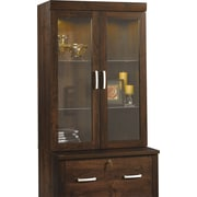 Sauder Office Port Lateral File Hutch, Dark Alder