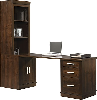 Sauder® Office Port Collection, Dark Alder