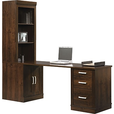 Attirant Sauder Office Port Library Return, Dark Alder