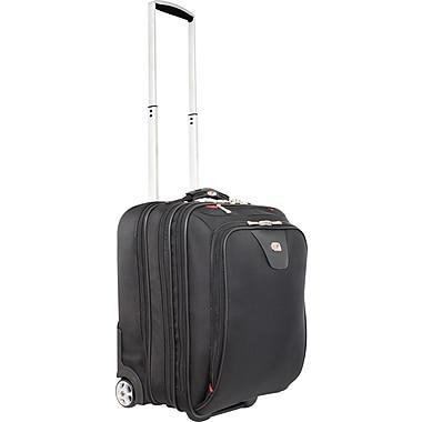 "Gino Ferrari Hanover 17"" Rolling Laptop Case, Black"
