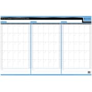 "Day-Timer 90/120 Day Reversible Flexible Planner, 24"" x 36"", Bilingual"