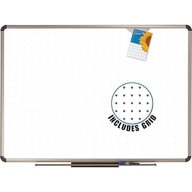 Quartet® - Tableau à marqueurs Prestige Total Erase de style euro, 72 po x 48 po