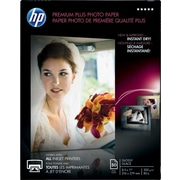 "HP® Premium Plus Photo Paper, Glossy, 8-1/2"" x 11"", 50/Pack"