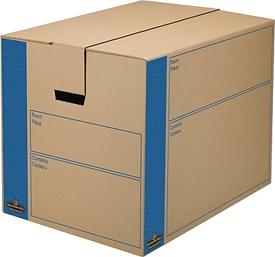 Bankers Box® Moving Boxes, SmoothMove™, Large, 24
