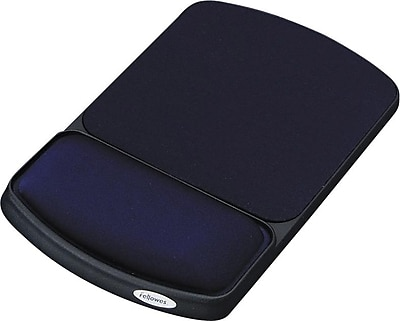 Fellowes® Mouse Pad and Wristrest, Sapphire