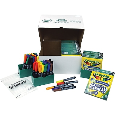 Crayola® Washable Marker Classpack, 200/Pack
